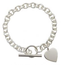 T180 TIFFANY STYLE BRACELET SOLID HALLMARKED SILVER